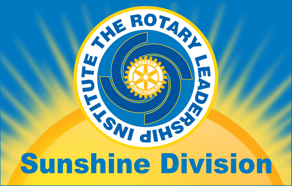 RLI – Sunshine Division – Building better Rotarians, one session at a time.